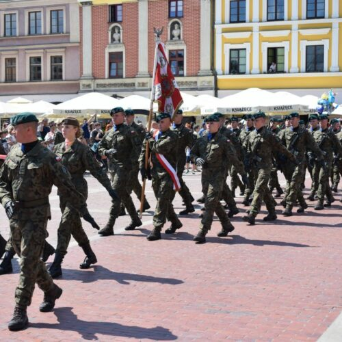 Uroczyste obchody Święta Wojska Polskiego
