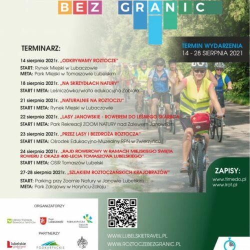 Festiwal Turystyki Rowerowej Roztocze bez granic
